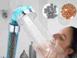 MONAKI Ionic Filtration Shower Head